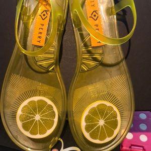 Katy Perry Lemon sandals